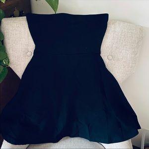 Express strapless dress!
